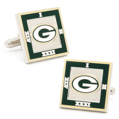 Cufflinks Inc. Green Bay Packers 2011 Championship Cufflinks