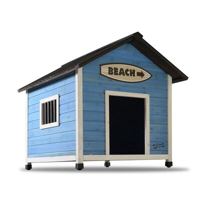 Pet Squeak Beach Dog House