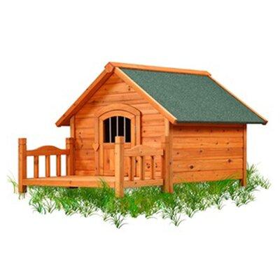 Pet Squeak Porch Pups Dog House Large