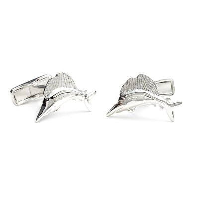 Ravi Ratan Sterling Marlin Cufflinks