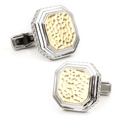 Ravi Ratan Two Toned Opus Cufflinks