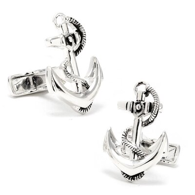 Ravi Ratan Boat Anchor Cufflinks