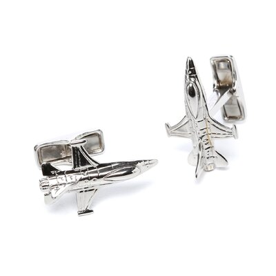 F-16 Fighter Jet Cufflinks