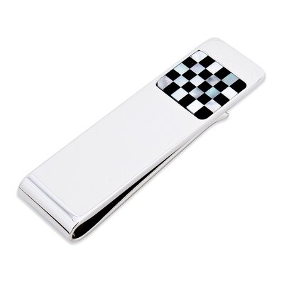 Ox and Bull Checker Step Money Clip