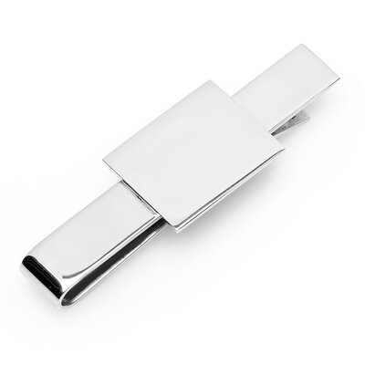 Ox and Bull Rectangular Infinity Tie Bar