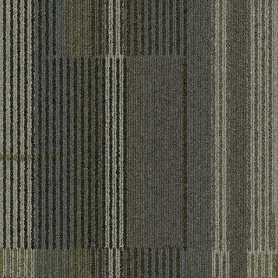 "Interface Stroll Holly Lane Square 19.69"" x 19.69"" Carpet Tile in Garland"