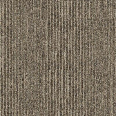 "Interface Stroll Poplar Lane Square 19.69"" x 19.69"" Carpet Tile in Bark"