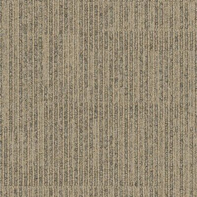 "Interface Stroll Poplar Lane Square 19.69"" x 19.69"" Carpet Tile in Stem"