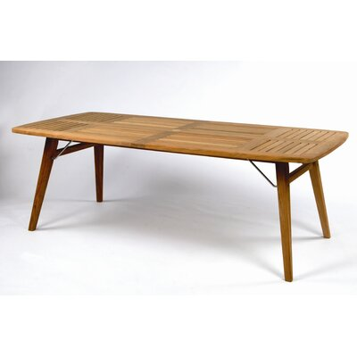Kingsley Bate Ipanema Rectangular Dining Table