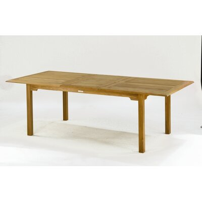 Kingsley Bate Evanston Extension Table 92""