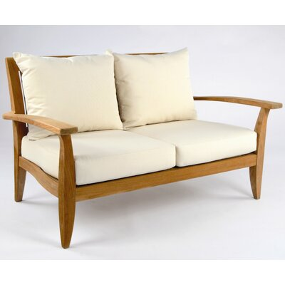 Kingsley Bate Ipanema Deep Seating Settee with Cushions