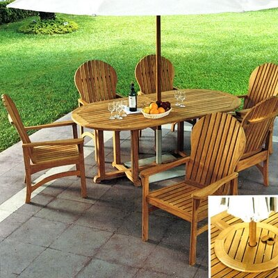 Kingsley Bate Hampton 7 Piece Dining Set
