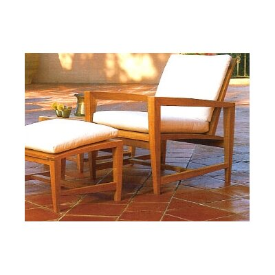 Kingsley Bate Amalfi Lounge Chair Ottoman