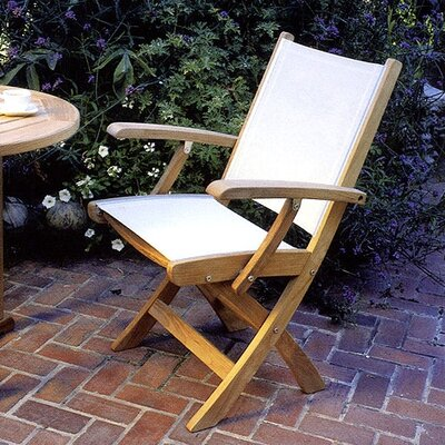 Kingsley Bate St.Tropez Folding Dining Arm Chair