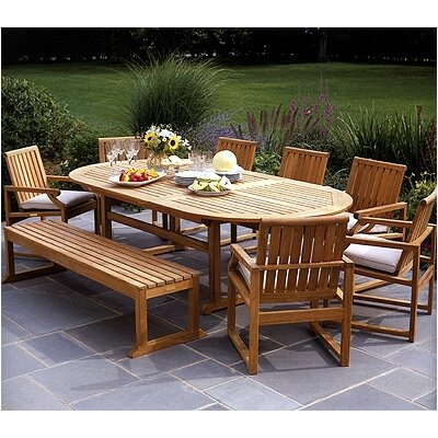 Kingsley Bate Nantucket 9 Piece Dining Set