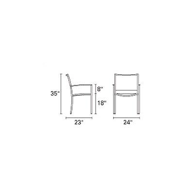 Kingsley Bate Tiburon Dining Arm Chair