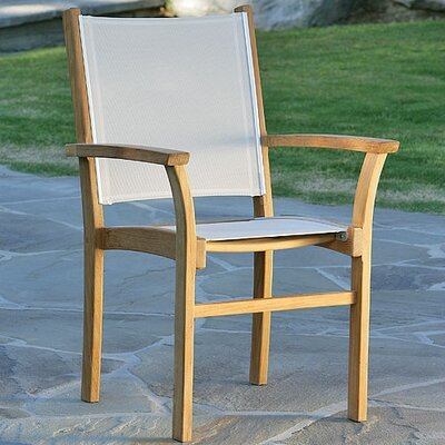 Kingsley Bate St.Tropez Stacking Dining Arm Chair