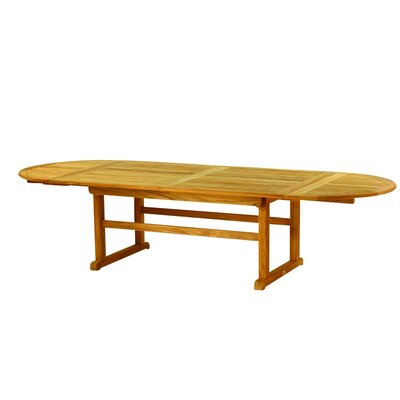 Kingsley Bate Essex Oval Extension Table 122""