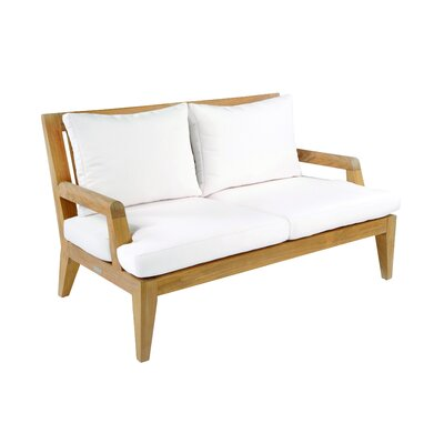 Kingsley Bate Mendocino Deep Seating Settee with Cushion
