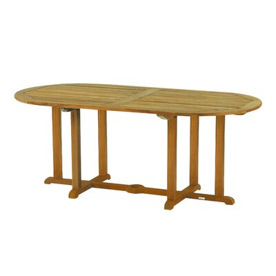 Kingsley Bate Essex Oval Dining Table 72""