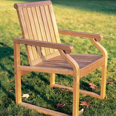 Kingsley Bate Nantucket Teak Dining Arm Chair