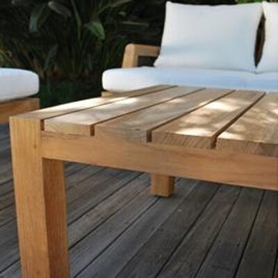 Kingsley Bate Mendocino Rectangular Coffee Table