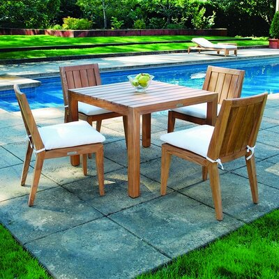 Kingsley Bate Mendocino Square Dining Set