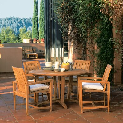 Kingsley Bate Amalfi 5 Piece Dining Set