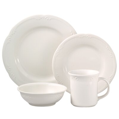 Filigree 16 Piece Dinnerware Set