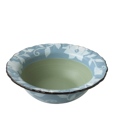 "Pfaltzgraff Patio Garden 9.54"" Serving Bowl"