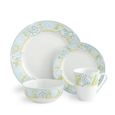 Pfaltzgraff Seaside 48 Piece Dinnerware Set