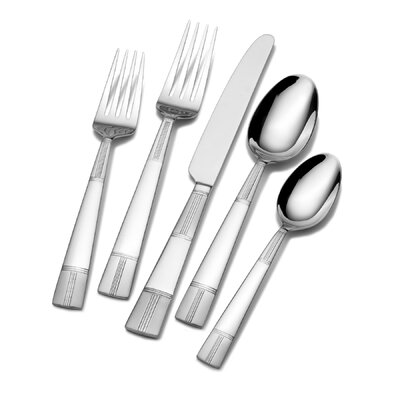 Seabury Frost 45 Piece Flatware Set