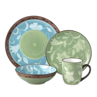 Patio Garden 16 Piece Dinnerware Set