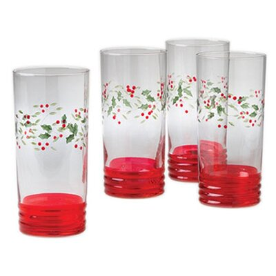 <strong>Pfaltzgraff</strong> Winterberry Cooler (Set of 4)
