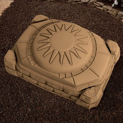 Step2 Naturally Playful 4' Rectangular Sandbox with Cover