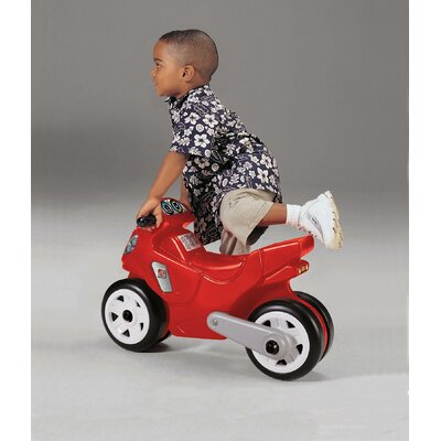 Step2 Motorcycle Ride-On Toy in Red