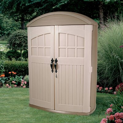 "Step2 LifeScapes 4'2"" W x 2' D Highboy Plastic Tool Shed"