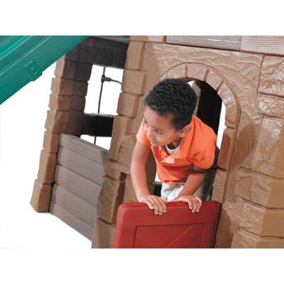 "Step2 88.5"" x 147"" Adventure Lodge Play Center Swing Set"
