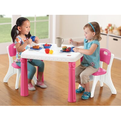 Step2 Lifestyle Kitchen Kids Table and Chair Set
