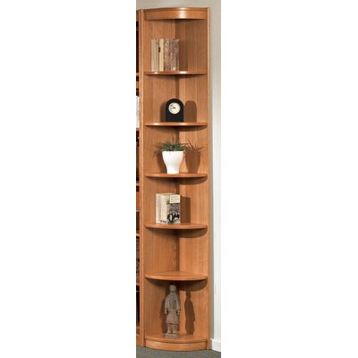 "Wildon Home ® Classic Soft Outside 84.25"" Corner Bookcase"