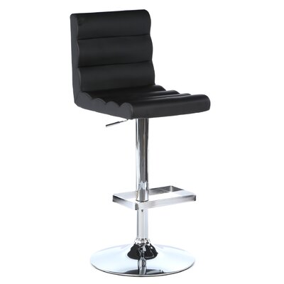 "LumiSource Auto 24"" Adjustable Swivel Bar Stool"