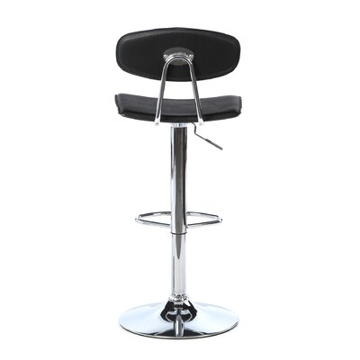 LumiSource Vector Barstool in Black