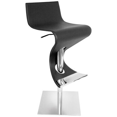 "LumiSource Viva 28"" Adjustable Swivel Bar Stool"