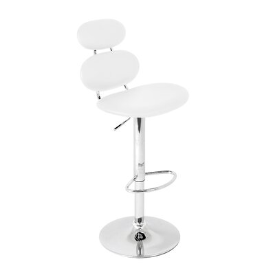"LumiSource Segment 22"" Adjustable Bar Stool"