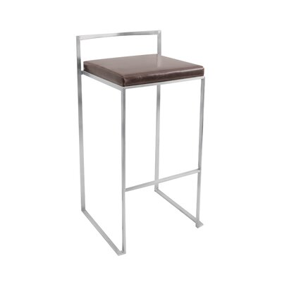 Fuji Stacker Barstool in Brown