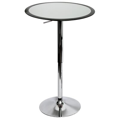 LumiSource Ribbon Bar Table in Black