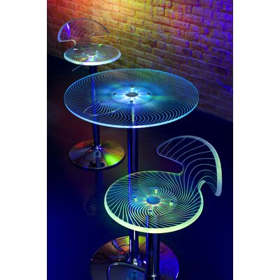 LumiSource Spyra Pub Table with Optional Stools