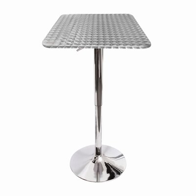 LumiSource Adjustable Height Pub Table