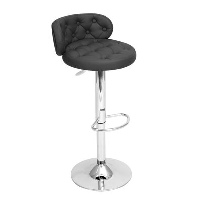 "LumiSource Royale 24"" Adjustable Swivel Bar Stool"