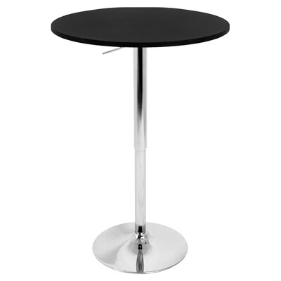 <strong>LumiSource</strong> Adjustable Height Pub Table